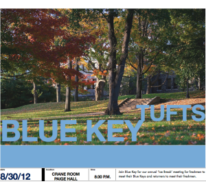 Blue Key Flyer